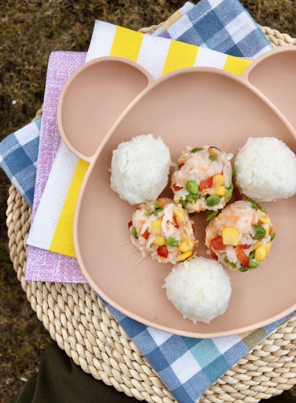 RETSEPT | Värvilised riisipallid beebile 🍣
