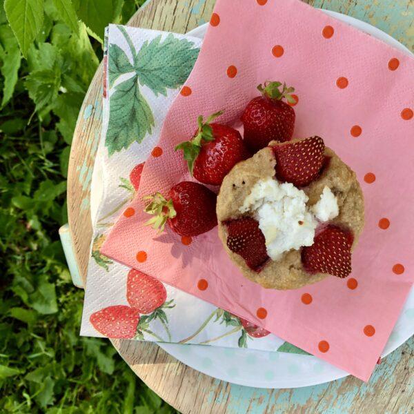 Näputoit_retsept_ricottamuffinid_sidruni_maasikatega